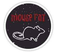 Mouse Rat T-Shirt | Parks and Recreation Leslie Knope Ron Swanson Bert Macklin FBI Parks n Rec Pawnee Indiana TV Show Tshirt Tee uk usa gift Sticker