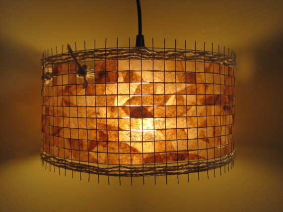 27 best lampshades woven images on pinterest lampshades lamp this lampshade was woven from coffee filters who would have thought that a used coffee aloadofball Images