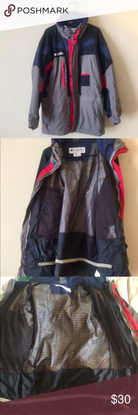 Columbia Omnitech waterproof jacket Sz S ski jack Perfect condition Columbia Men's jacket size Small. Fits a bit bigger. Waterproof and breathable fabric. Columbia Jackets & Coats Ski & Snowboard