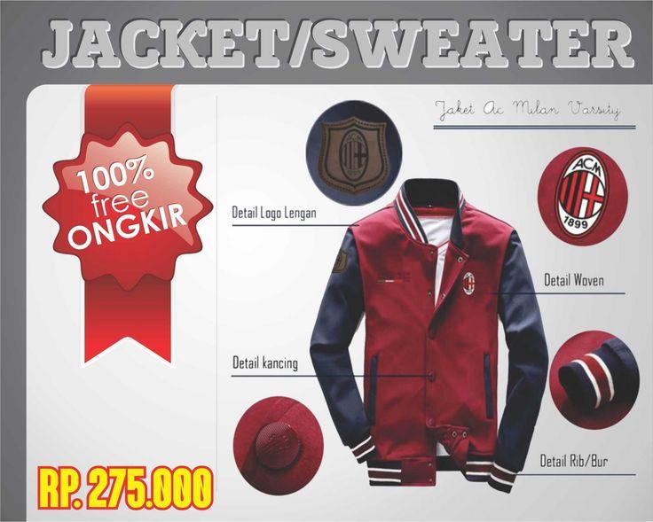 Ayunitah - Stores - Product Profile - Jaket AC Milan
