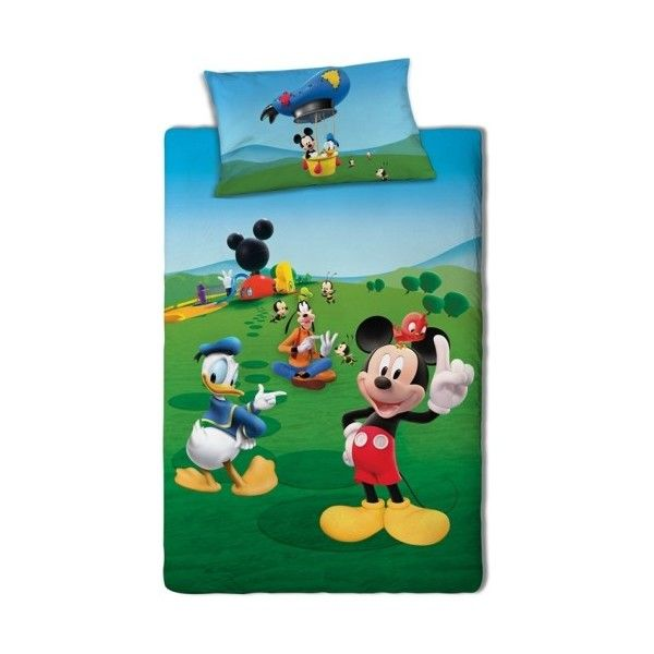 Parure de lit Mickey Mouse Disney