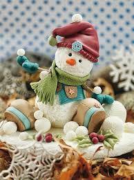 Resultado de imagen para centros de mesa de navidad en porcelana fria