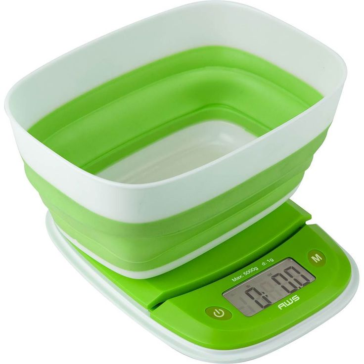 American Weigh Scales - Extend Digital Kitchen Scale - Green