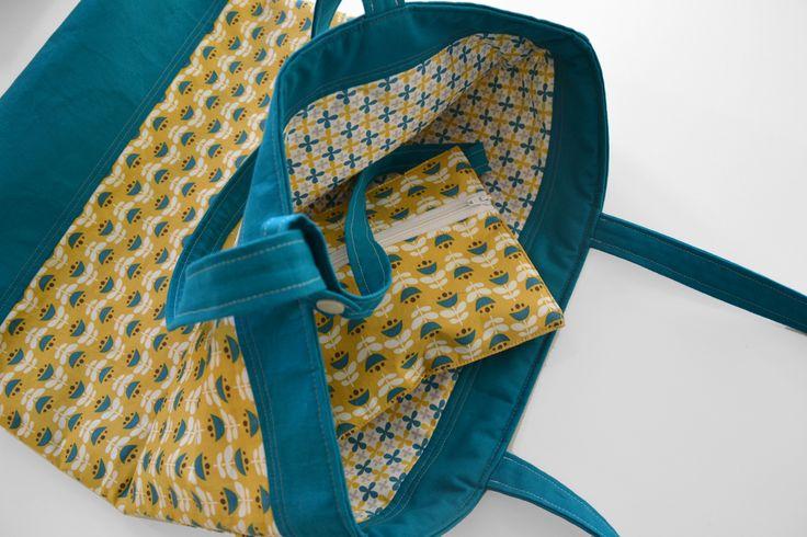 tulpen wendy mit innent schchen nach der gratis anleitung von pattydoo taschen beutel co. Black Bedroom Furniture Sets. Home Design Ideas