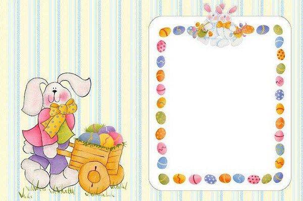 Cartões e Desenhos de Páscoa para Imprimir e Colorir | Menina de Atitude