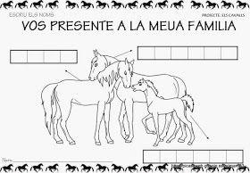 """Educació Infantil Brimar: PROJECTE """" ELS CAVALLS """""""