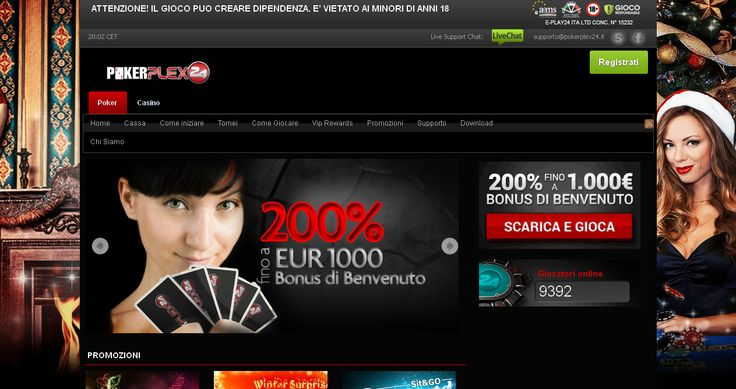 Festeggia con noi Per celebrare il 7° anniversario di iPoker, sei invitato a partecipare alle promozioni esclusive e offerte speciali! Domenica 20 Dicembre, per festeggiare il settimo anniversario del lancio di iPoker, tutti i tornei piú importanti avranno un montepremi maggiorato e garantiranno un montepremi di oltre 55.000€! Ma non e tutto, PokerPlex24 regalerá a …
