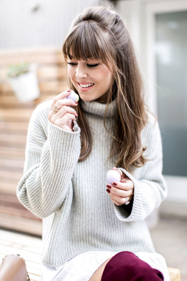 Perfect Bangs for Winter | Jenny Cipoletti of Margo & Me