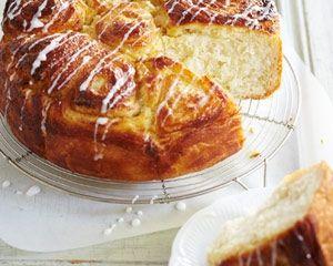 Cinnamon and cream cheese bake recipe