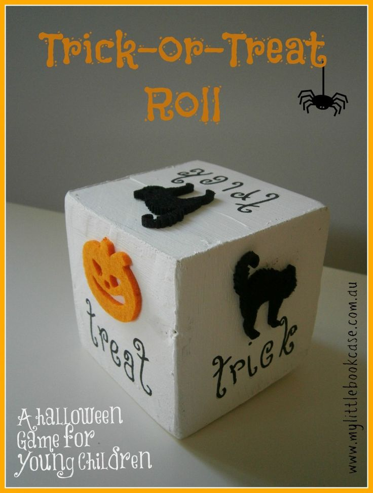 Trick or Treat Game for Toddlers