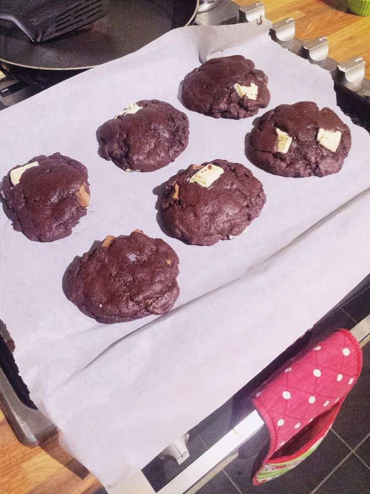 Tanya Burr Triple Chocolate Cookies