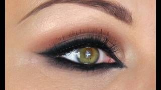 ARABIC STYLE MAKE-UP TUTORIAL - HAIFA WEHBE, via YouTube.  hello prom