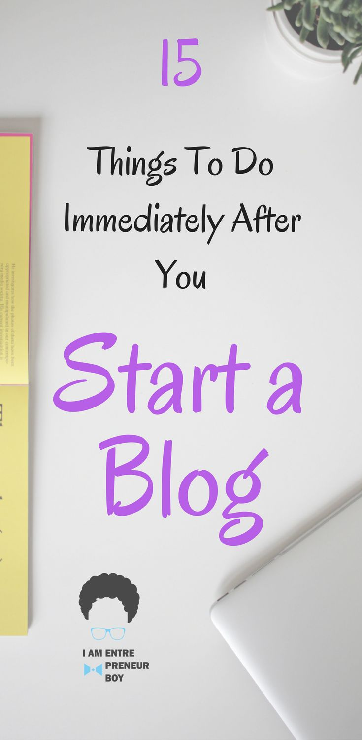 When it comes to blogging, starting a blog is the beginning, but that does not mean you are finished. These are the steps you need to take Immediately After You Start a Blog. An easy to follow blogging guide for beginners.