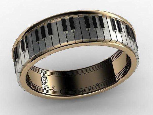 кольцо пианиста