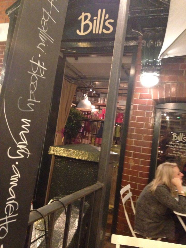 Bill's Restaurant in Shoreditch, Greater London