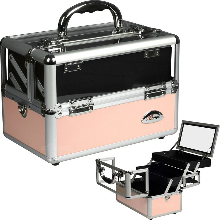 Pink Clear Makeup Case - C0009 - salonhive.com