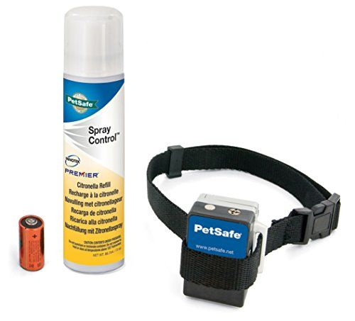 PetSafe Gentle Spray Anti-Bark Collar - http://www.thepuppy.org/petsafe-gentle-spray-anti-bark-collar/