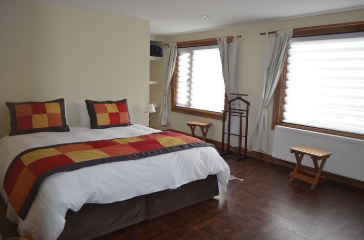 Double room at Torres del Paine National Park lodge #estanciaPatagonia