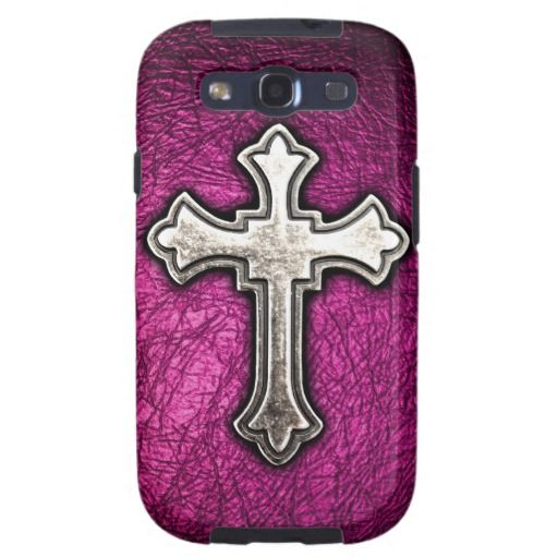 Pink Cross Samsung Galaxy S3 Cases $47.95