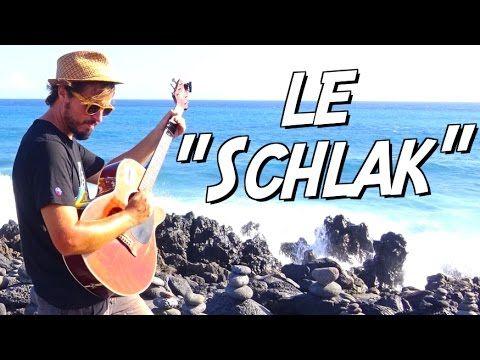 """Le """"Schlack"""" à la guitare (Procédé percussif simple et efficace !) - YouTube"""