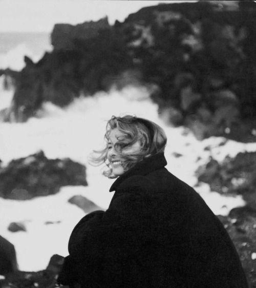 Ingrid Bergman,  Stromboli, 1949, Federico Patellani.