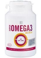 Super Omega 3 Activ - Acidi grassi Omega 3 ricavati da sardine, sgombri e tonni. Impiego esclusivo di pesci vivi dell'area sudamericana del Pacifico, certificazione di speciale sostenibilità dei processi di pesca e lavorazione, nessuna manipolazione genetica