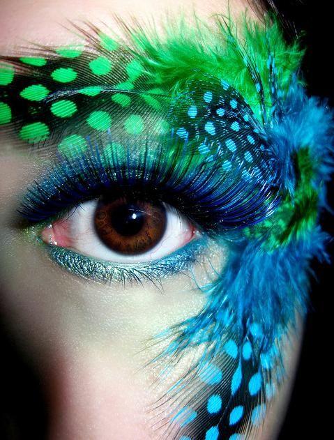 Zebra Eye Makeup   Perfecctly: pretty eye make-up *___*