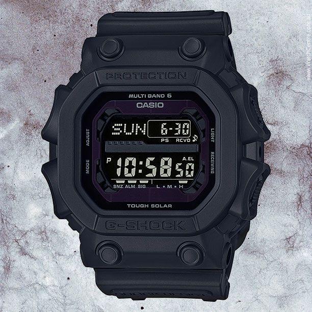 G-Shock Matte Black Tough Solar Watch Model no. GXW56BB-1