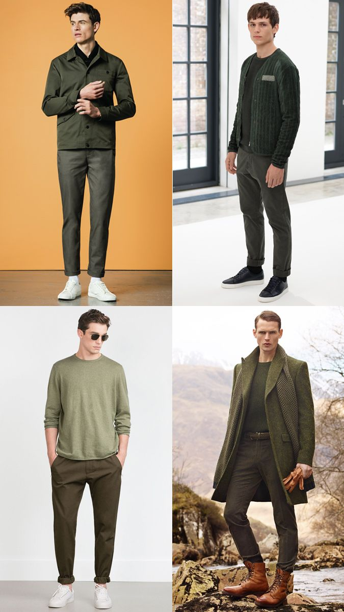 How To Wear An All,Green Tonal Dressing Outfit Lookbook