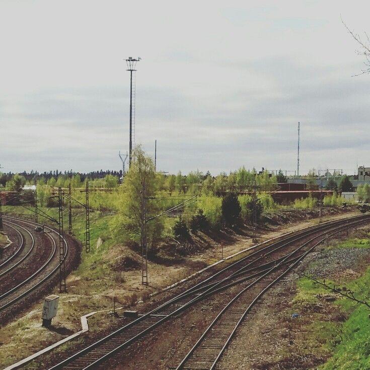 #train #trailway #kokkola