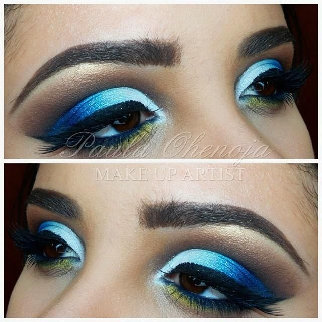 blue cut crease eye makeup makeup vidalondon
