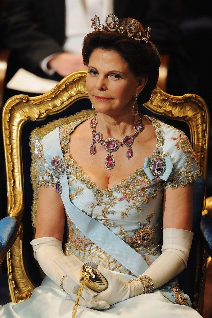 Queen Sylvia at Nobel Prize