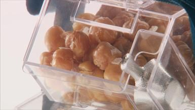 Crispy Chickpeas from #GiadaAtHome. Wrap them up for a fun holiday gift!