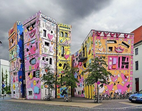 The Happy Rizzi House, Braunschweig, Germany.