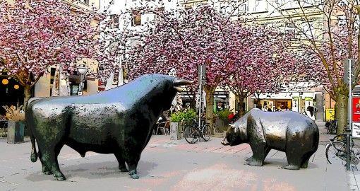 #bull #bear #Frankfurt