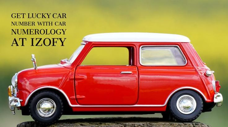 Enjoy good fortune with car number numerology contact