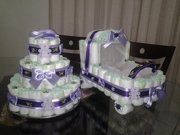 coche y torta
