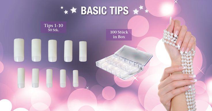 !! NEUE - BASIC TIPS!! in allen Juliana Nails Stores erhältlich