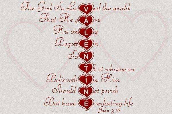 You are loved unconditionally!