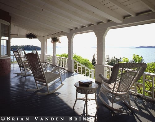 Rocking Chairs to enjoy the view