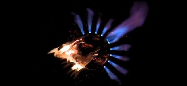 Trippy Video – Combustion