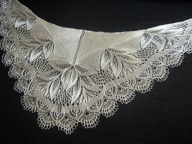 Две майские шелковые шали!