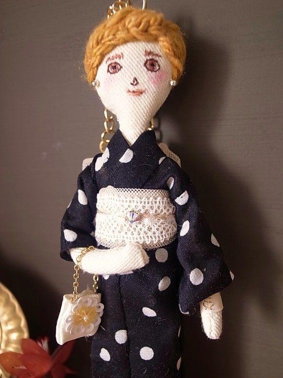 Doll charm -浴衣Lady のチャーム