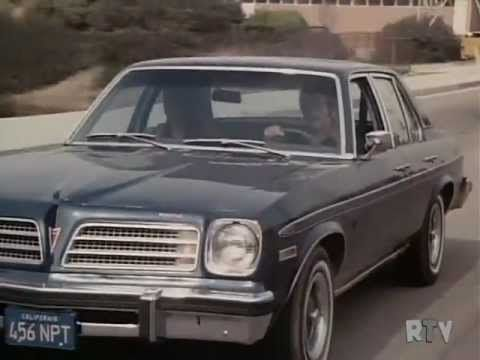 """"""" Open City"""" 1976 entry for """"Police Story """" anthology series starring Hugh O Brien and Carl Betz. Pontiac Astre"""