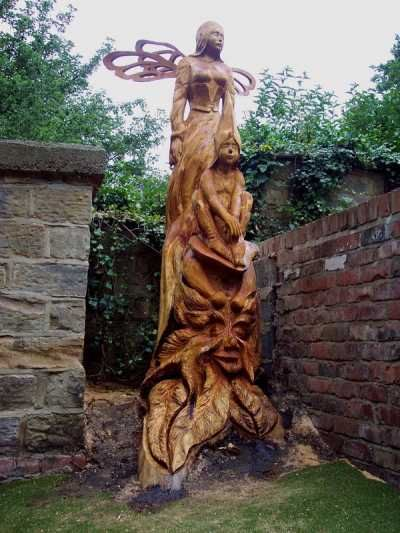 Wooden Art Sculpture Woodcarving