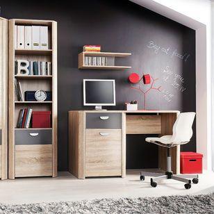 Idealne biurko dla dziecka z kolekcji Yoop Forte.  Ideal desk for student from collection Yoop Forte #desk, #child'sroom, #furniture