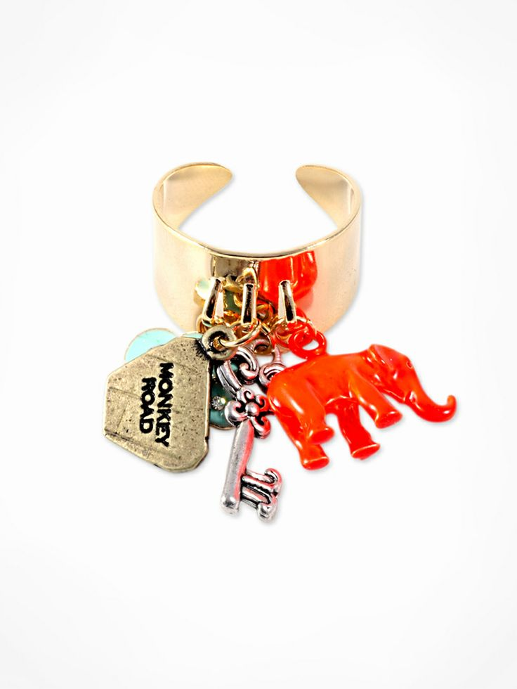 Vintage Charm Ring MONKEY ROAD JEWELRY www.monkeyroadjewelry.com