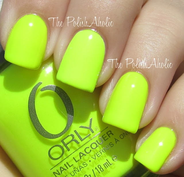 Bright!Glow Sticks, Summer 2012, Neon Green, Nails Polish, Neon Nails, Summer Colors, Bright Nails, Bright Colors, Vibes Collection