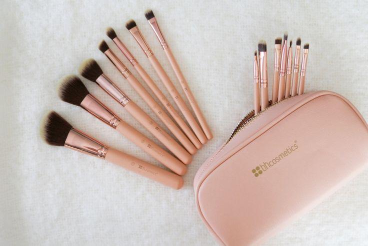 bh cosmetics chic brush set