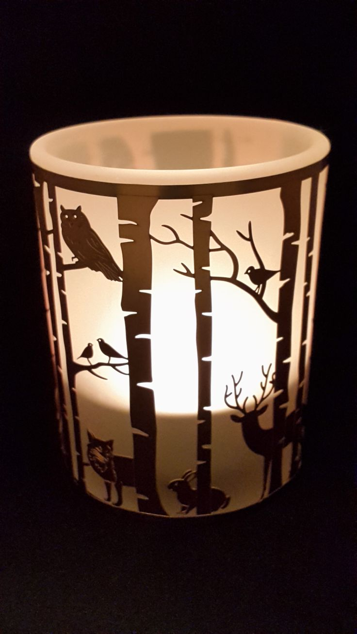 Woodland Tealight Holder - Woodland Scene Two - Presentorium - Your Secret Weapon for Gifting